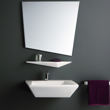 Olympia ceramica suspended bathroom washbasins