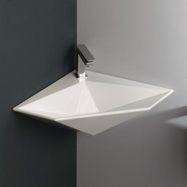Olympia Ceramica corner sinks