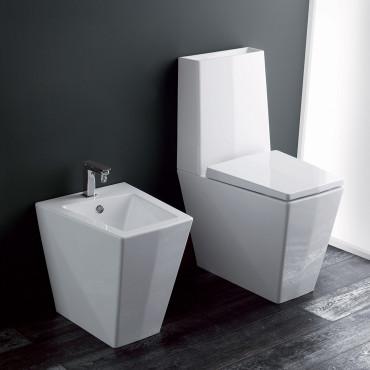 sanitarios con cisterna integrada Crystal Olympia Ceramica