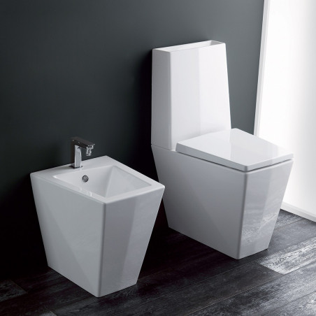 sanitary ware with integrated cistern Crystal Olympia Ceramica