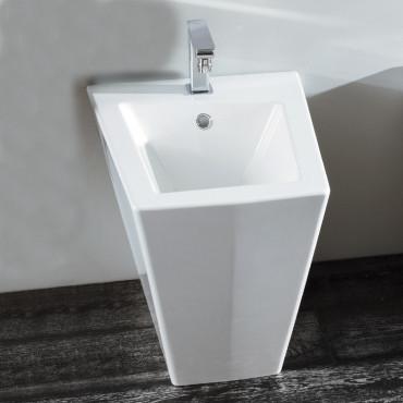 floor mounted bidet Crystal Olympia Ceramica