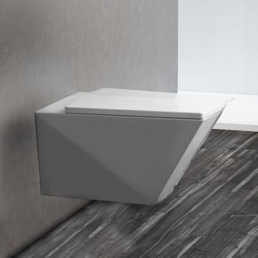 wandhängende WC-Vase Crystal Olympia Ceramica