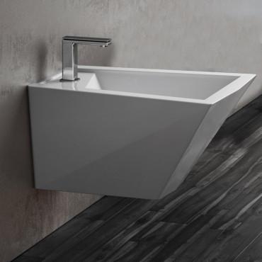 Wall hung sanitary ware design Crystal Olympia Ceramica