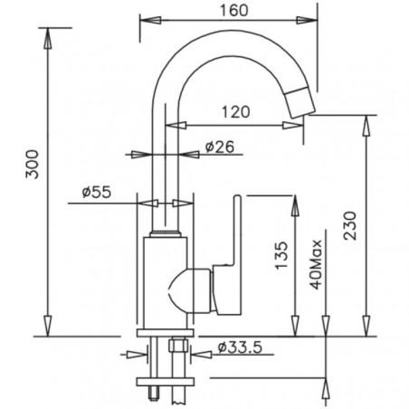 miscelatori lavabo prezzi Gaboli Flli rubinetteria