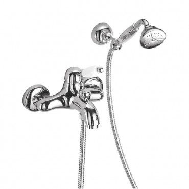 Miscelatore per vasca vintage Gaboli Flli Rubinetteria Parentesi 2110