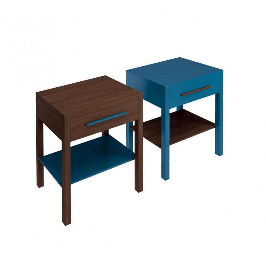 blue bathroom cabinet Tratto 60 Olympia Ceramica