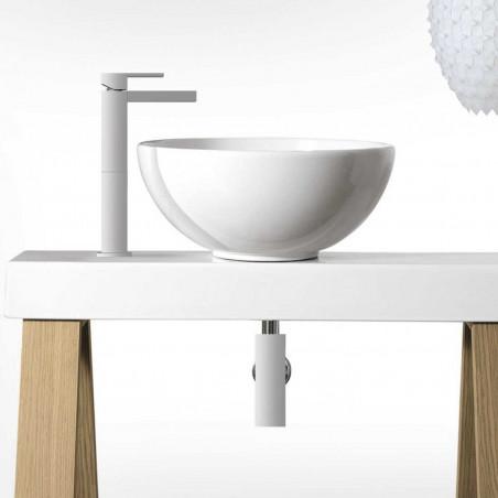 robinets pour lavabo hauts Gaboli Flli Rubinetteria
