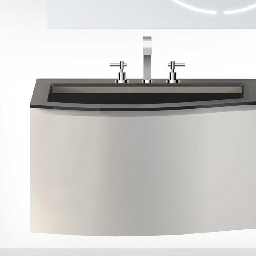 rubinetto lavabo 3 fori Mood 971 Gaboli Flli Rubinetteria