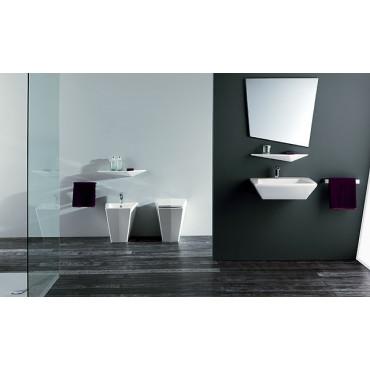 prix des toilettes au mur Crystal Olympia Ceramica
