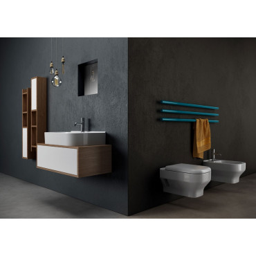 Suspended sanitary ware Synthesis Olympia Ceramica