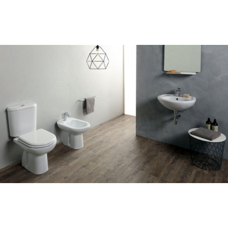wc with external cistern and bidet Rubino Olympia Ceramica
