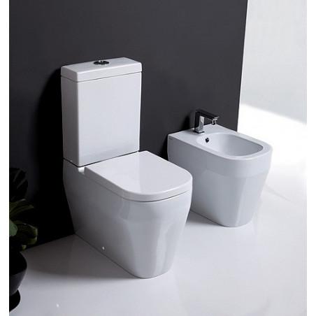 sanitaire contre le mur réservoir extérieur Tutto Evo Olympia Ceramica