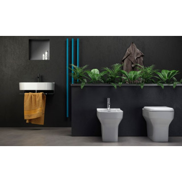 floor standing bidet Synthesis Olympia Ceramica