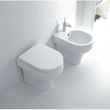 Clear Olympia Ceramica back to wall bidet