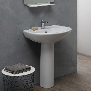 vasque sur pied Olympia céramique prix