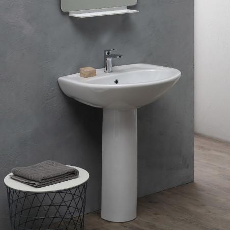 Olympia ceramica pedestal washbasins