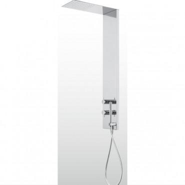 columna de ducha con rociador y alcachofa HQ375 Gaboli Flli Rubinetteria