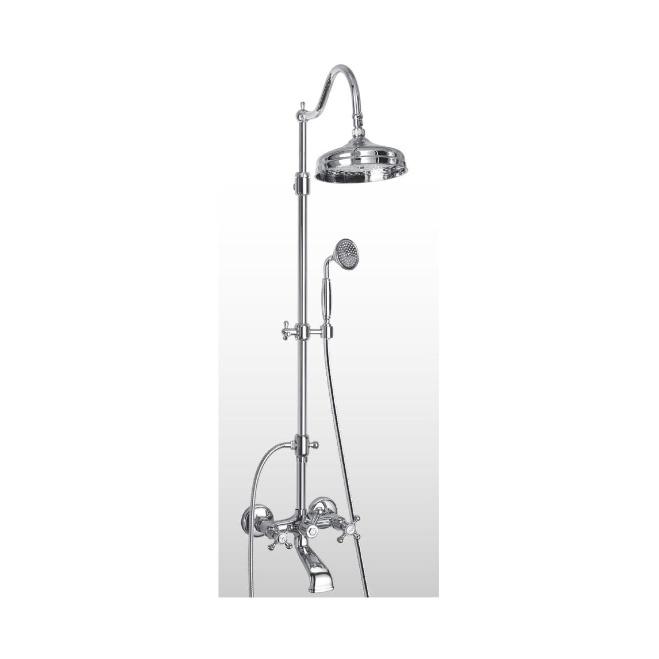 Colonna doccia retro bronzo oro rame cromo SY362