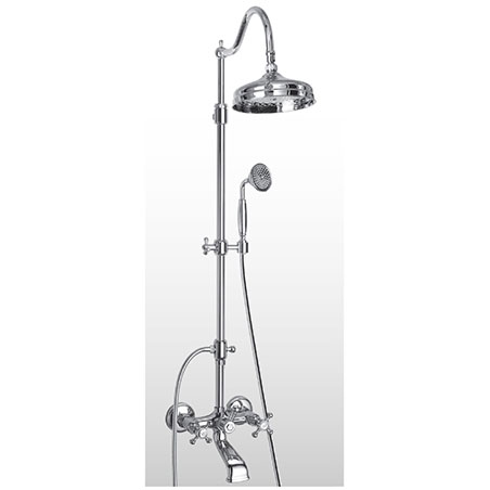 Retro shower column bronze gold copper chrome SY362