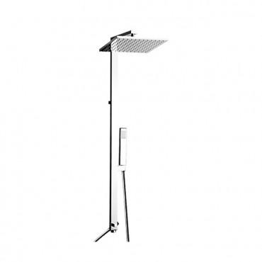 Shower column NS360 square shower head Gaboli Flli taps