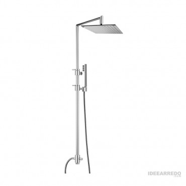 shower column QU360 Gaboli Flli taps