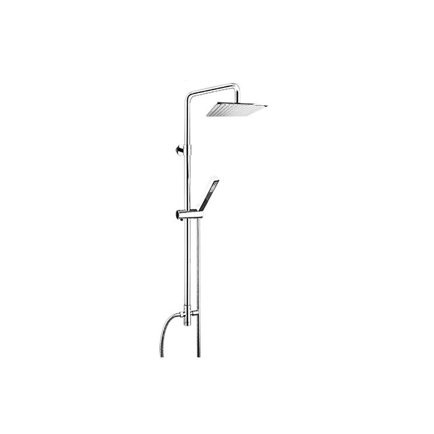 colonne de douche carrée Gaboli Fratelli Rubinetteria