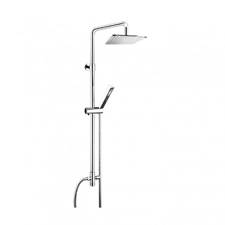 square shower column Gaboli Fratelli Rubinetteria