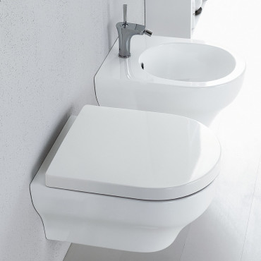 Suspended bathroom sanitary ware Clear Olympia ceramic prices