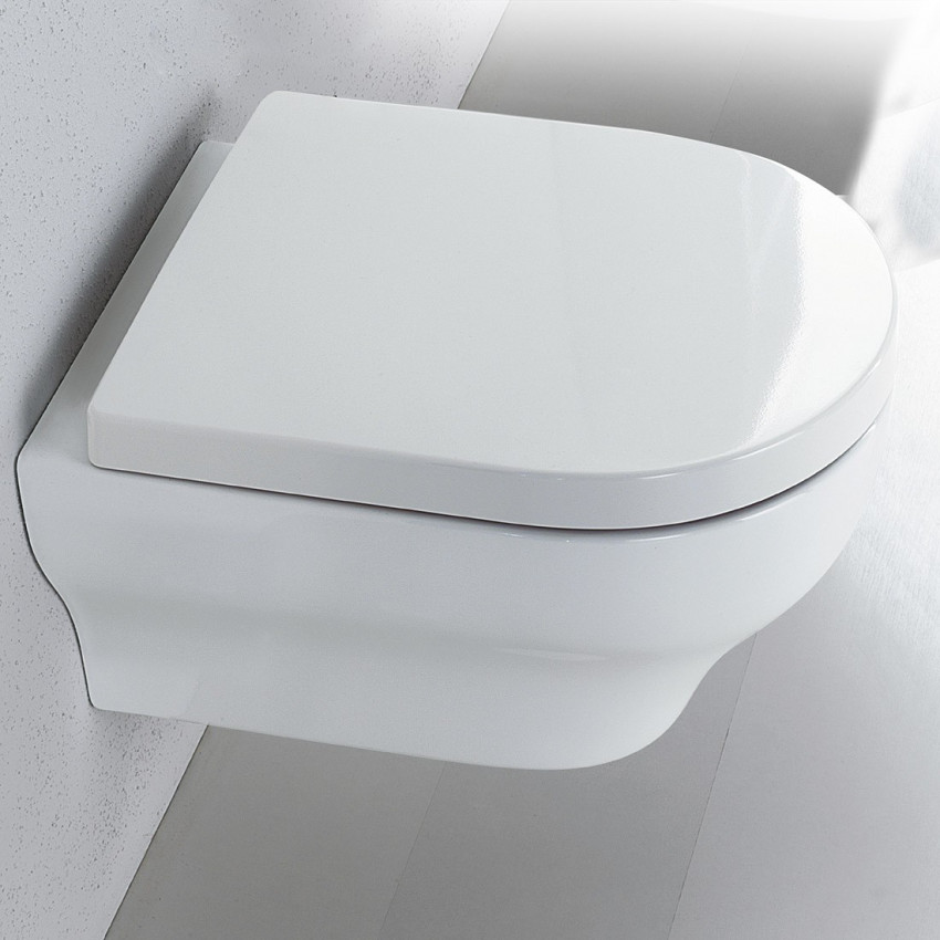 WC suspendu Clear Olympia Ceramica