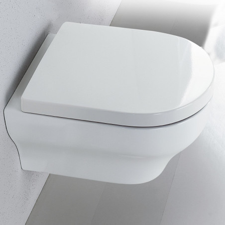 Wall hung toilet Clear Olympia Ceramica