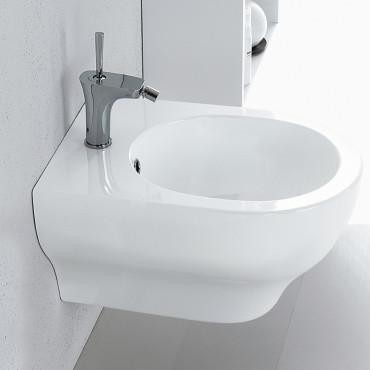 Bidet sanitaire suspendu moderne Clear Olympia Ceramica