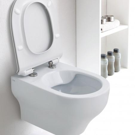 Toilettes suspendues Prix transparents sans monture Olympia Ceramica