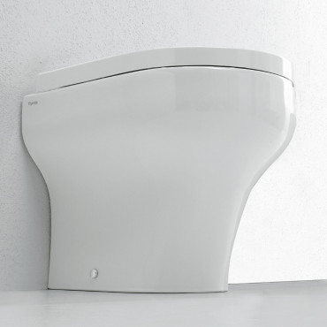 flush-to-wall vase Clear Olympia Ceramica