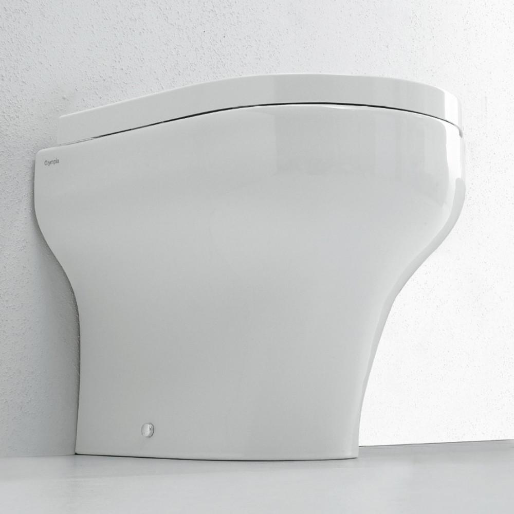 jarrón a ras de pared Clear Olympia Ceramica