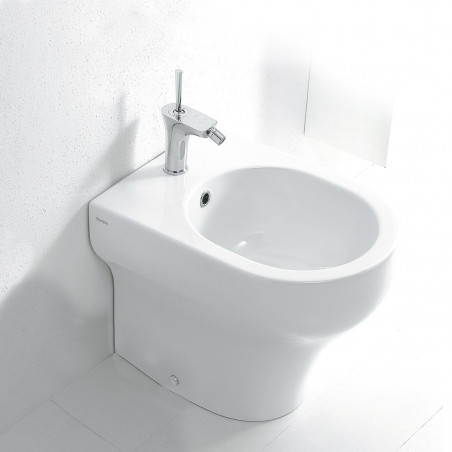 Back to wall bidet Clear Olympia Ceramica
