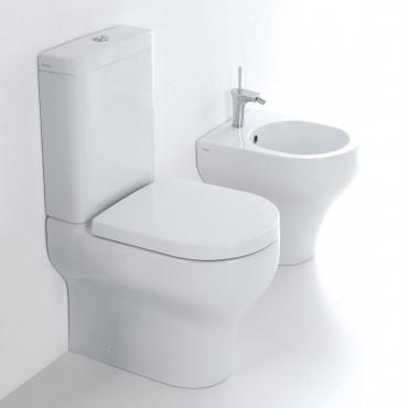 Sanitär-WC mit externem Spülkasten Klar Olympia Ceramica