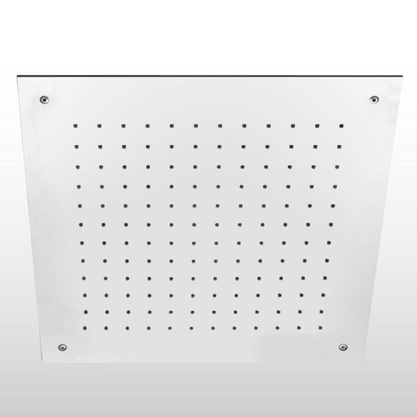 Soffione quadrato da incasso QU509/30