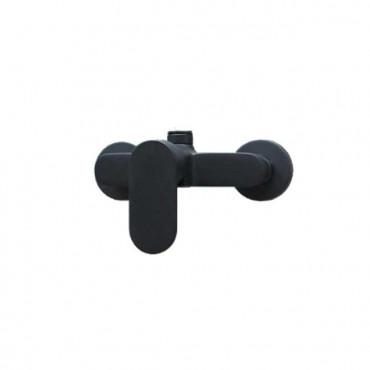 Mischbatterie für schwarze Duschsäule Gaboli Flli Rubinetteria Mia 4226