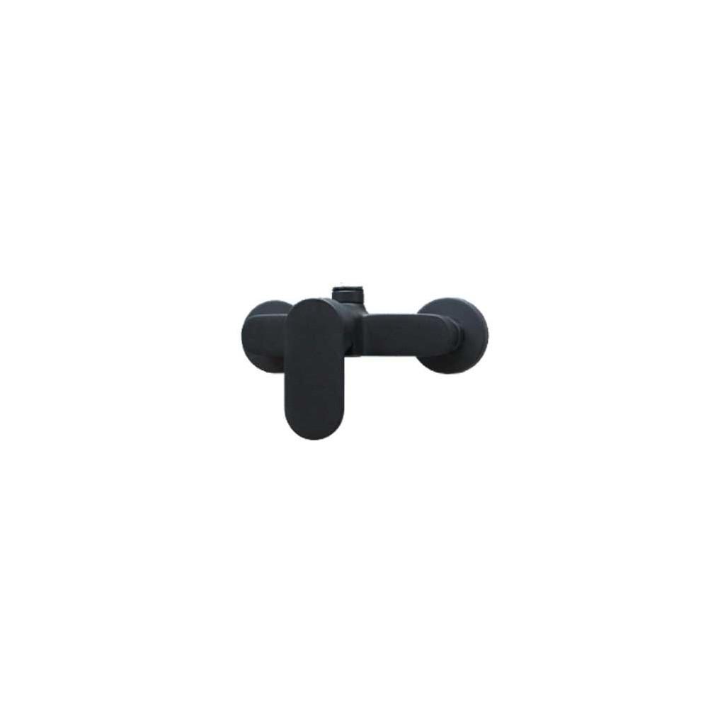 miscelatore per colonna doccia nera