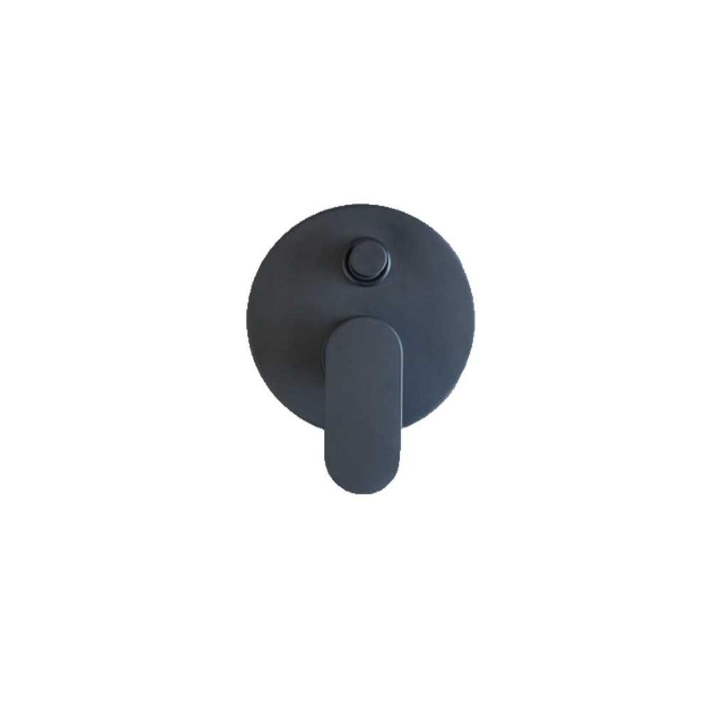 Mitigeur de douche encastré noir Gaboli Flli robinets