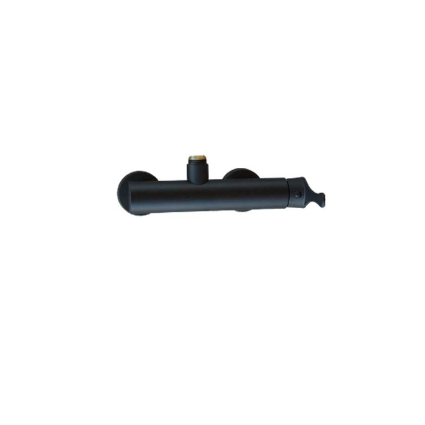 Miscelatore per colonna doccia nero Gaboli Flli rubinetteria