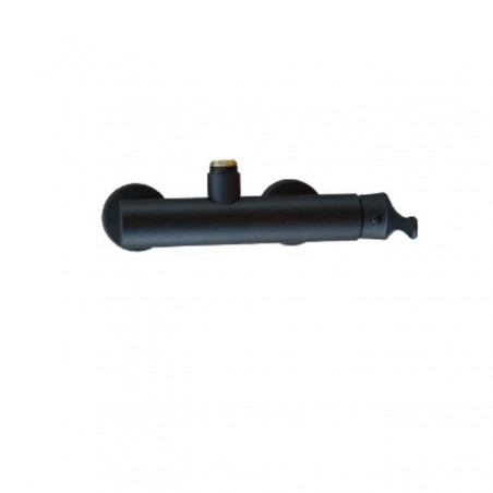 Mitigeur de colonne de douche noir Gaboli Flli robinets
