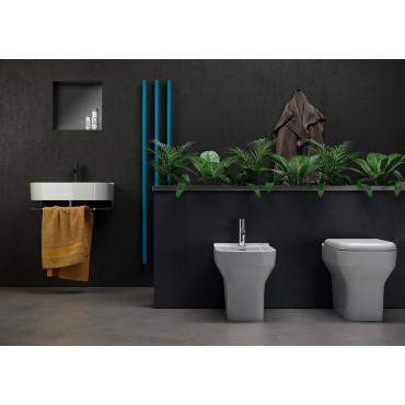 Lavabo appoggio/sospeso 70 Synthesis Olympia Ceramica