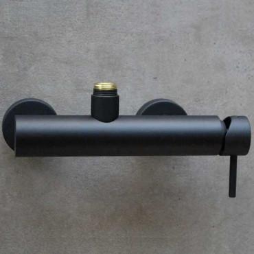 Miscelatore doccia nera Gaboli Flli rubinetteria