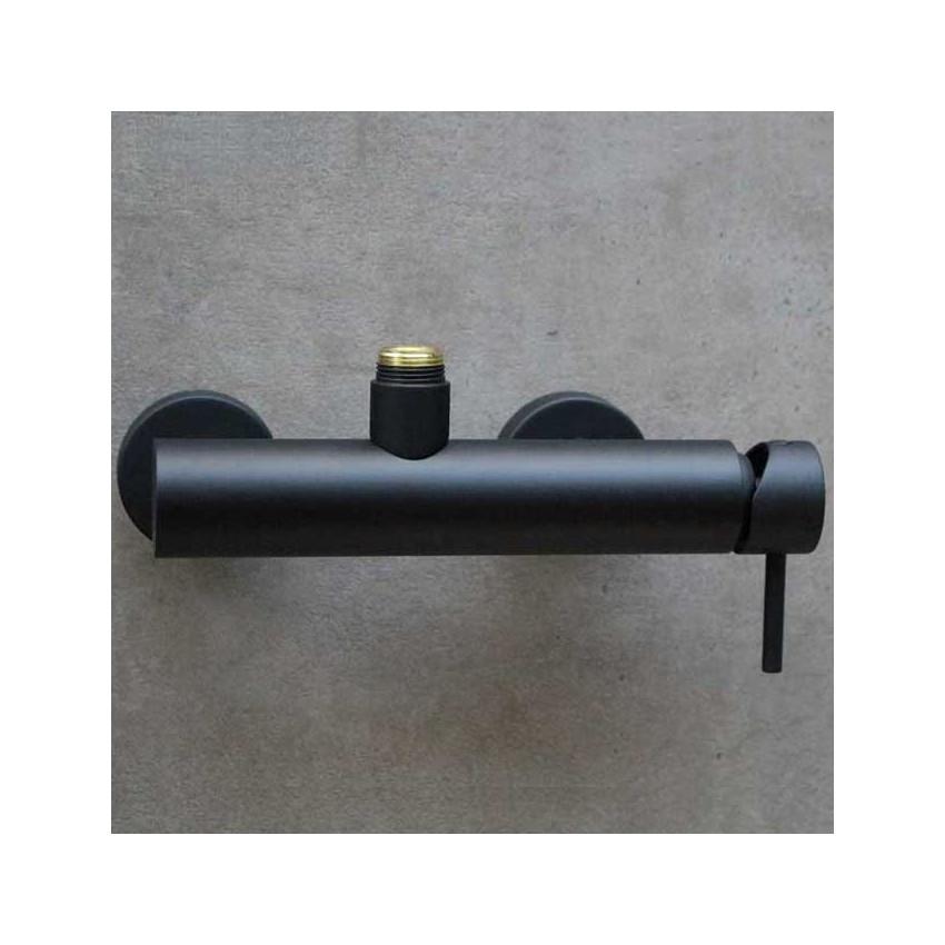 Miscelatore doccia esterno nero Heos 3026