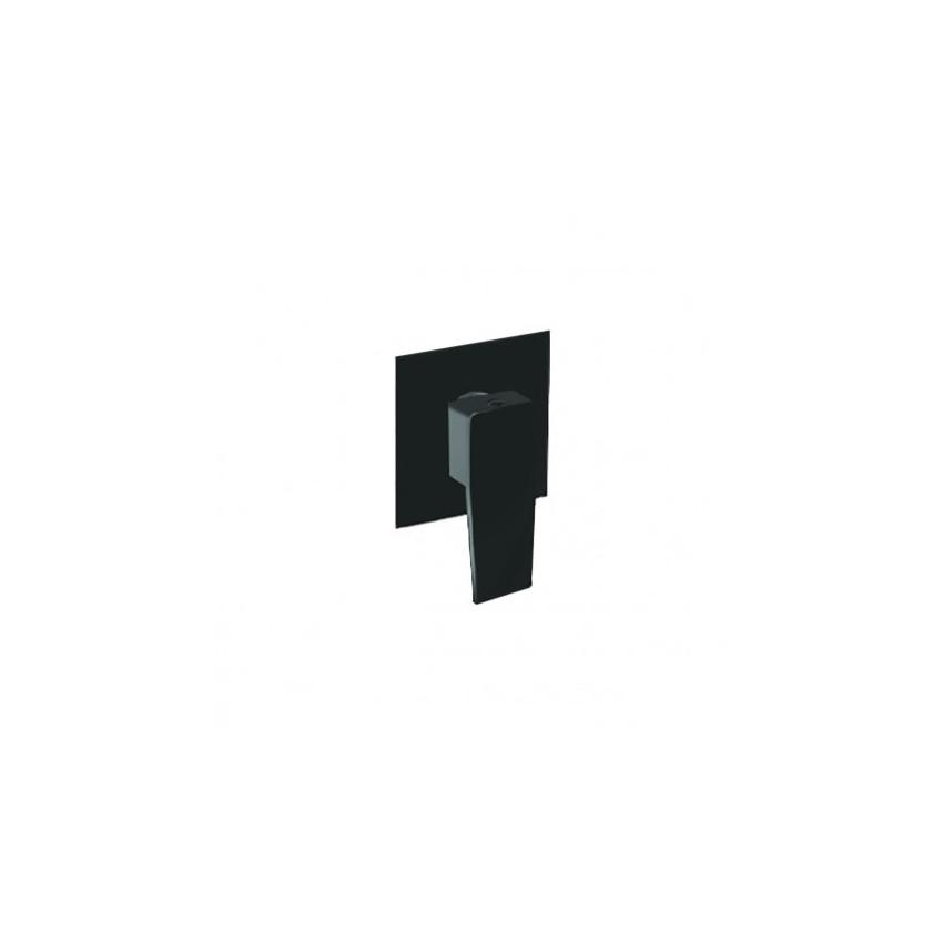 robinets de salle de bain noir mat