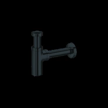 black bathroom accessories Gaboli Flli Rubinetteria