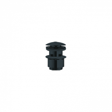 piletta lavabo nera