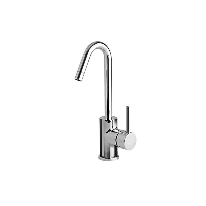 rubinetti alti lavabo appoggio Heos Gaboli Flli Rubinetteria