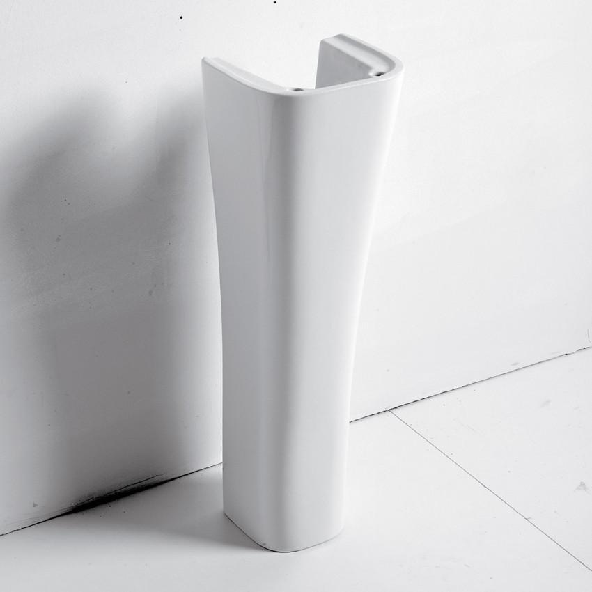 Colonna per lavabo Synthesis Olympia Ceramica